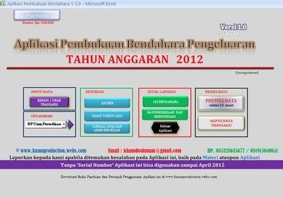 Aplikasi BKU 2012