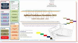 Aplikasi BKU 2013 Bendahara Pengeluaran